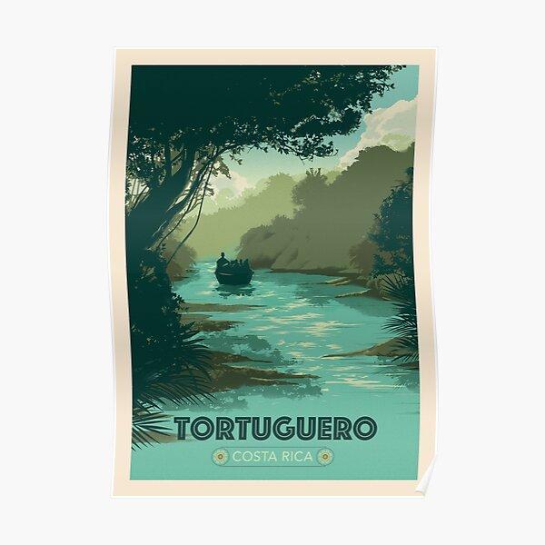 Tortuguero, Costa RIca Poster