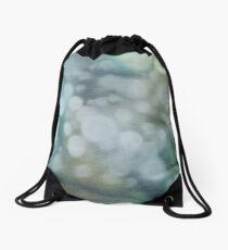 Dappled Light in Green Shades Drawstring Bag