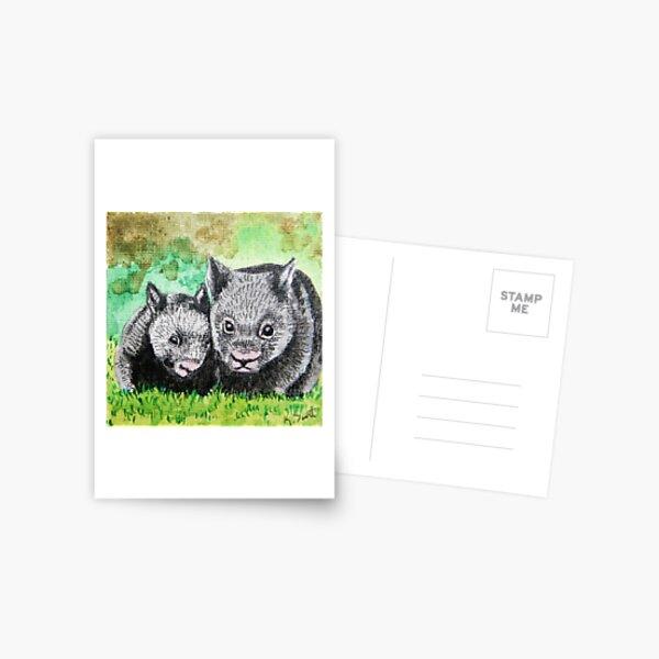 Wombats Postcard