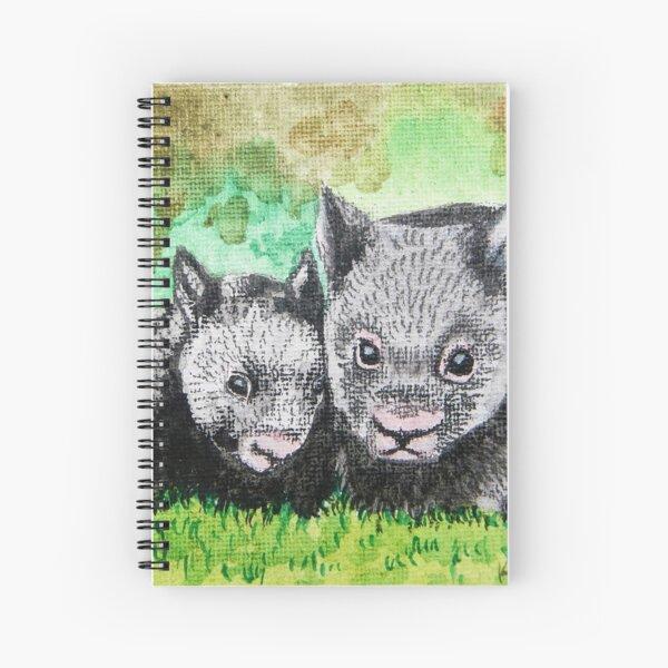Wombats Spiral Notebook