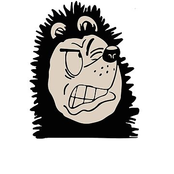 Gnasher snarling by red-rawlo