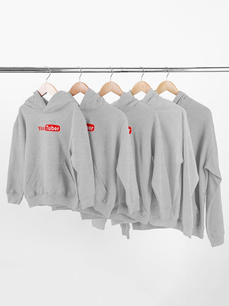 Alternate view of Future YouTuber Kids Pullover Hoodie