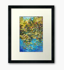Koala Street Lily Pond Framed Print
