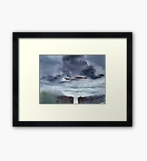 Monsoon 2018 -4 Framed Print