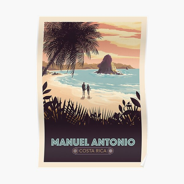 Manuel Antonio, Costa Rica  Poster