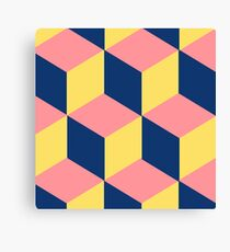 colorful cube Canvas Print