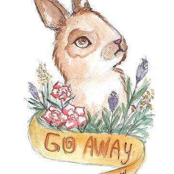 Go Away by marypotts