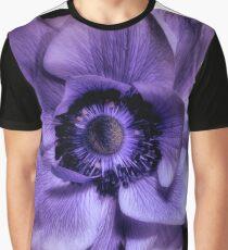 Purple anemone Graphic T-Shirt