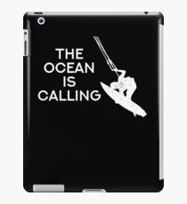The ocean is calling iPad Case/Skin