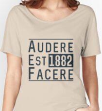 Audere Est Facere Women's Relaxed Fit T-Shirt
