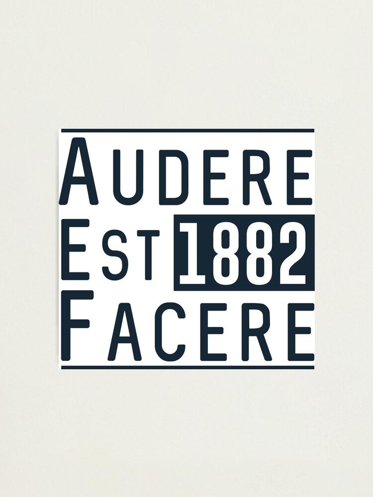 Alternate view of Audere Est Facere Photographic Print
