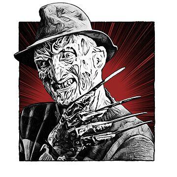 Nightmare on Elm Street by kobayashiandrea