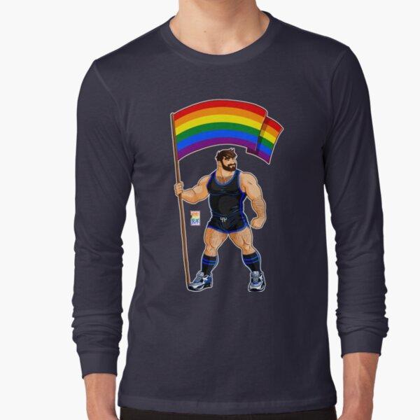 Hawaii LGBT Gay Pride Rainbow Black Soft Baby One Piece