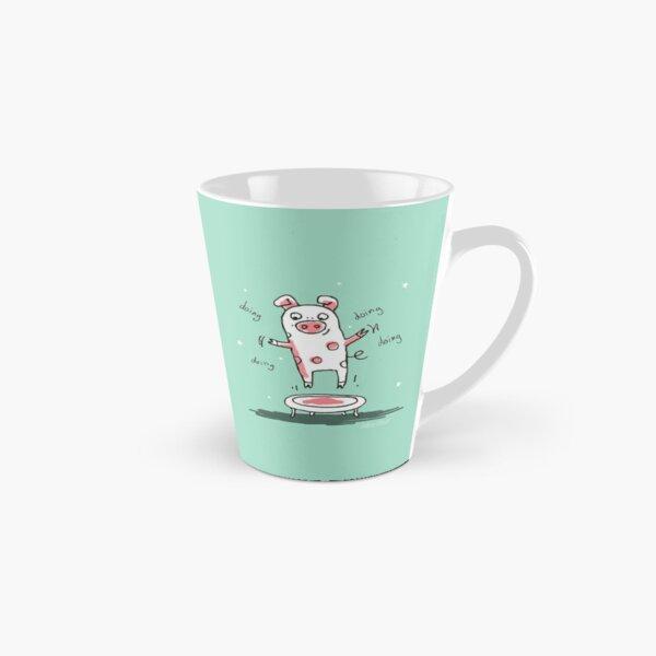 Trampolinschweinchen - Illu solo Tasse (konisch)