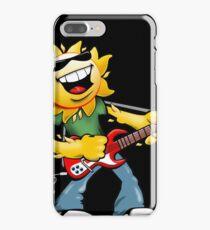 Guitar Jammin' Sun Cartoon iPhone 7 Plus Case
