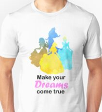 Make your Dreams come true Inspired Silhouette Unisex T-Shirt