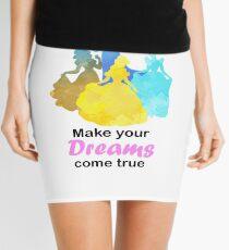 Make your Dreams come true Inspired Silhouette Mini Skirt