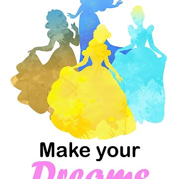 Make your Dreams come true Inspired Silhouette by InspiredShadows