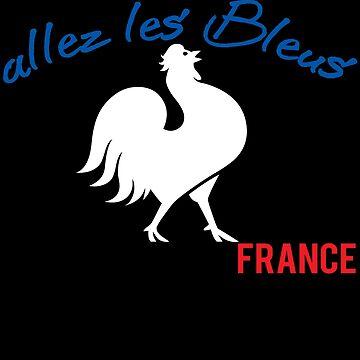 France ALLEZ LES BLEUS by iwaygifts