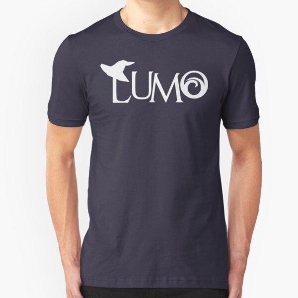 Lumo Logo [Light] Slim Fit T-Shirt