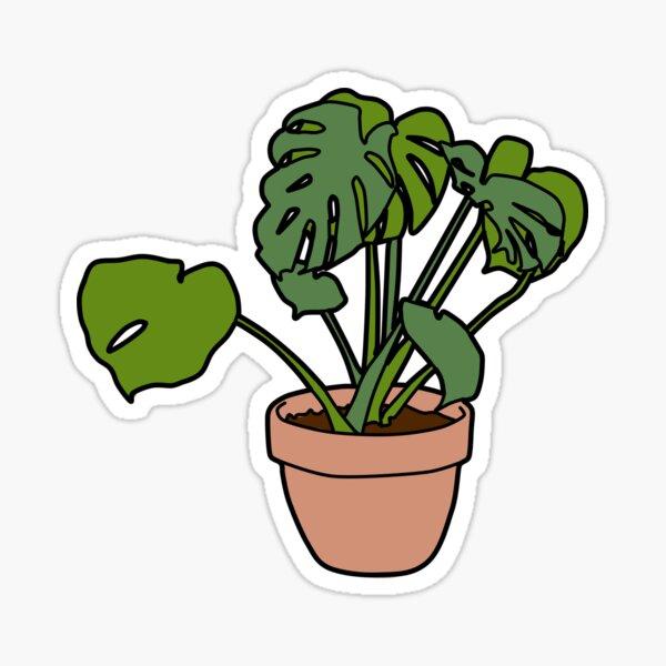 house plant Sticker