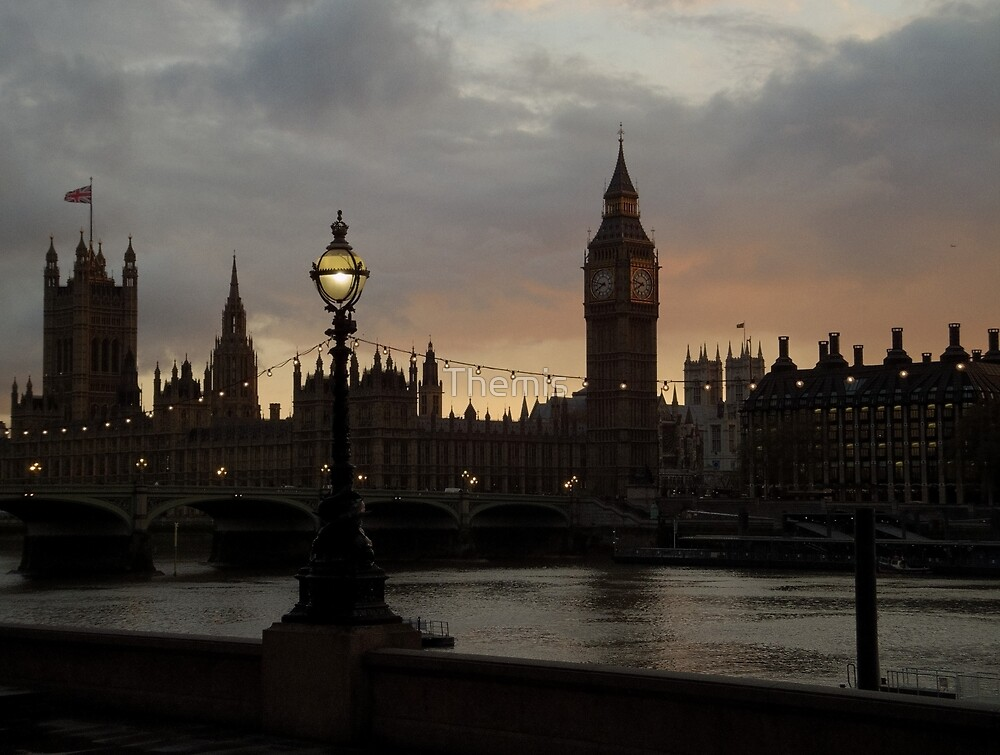 Westminster at Sunset (3) by Themis