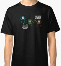 Salt Copper Periodic Table Policy Science Chemistry T-Shirt Classic T-Shirt