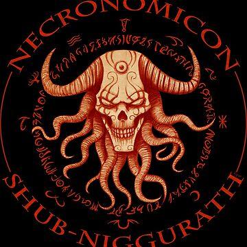 Necronomicon Shub-Niggurath by I-gor