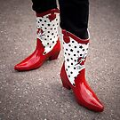 These Boots are Made for Walking by Bojoura Stolz