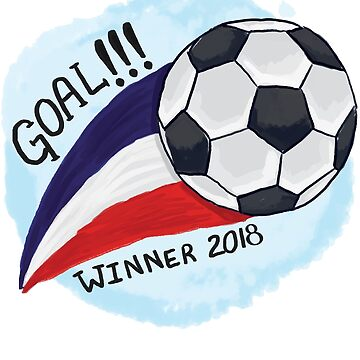 France Goal Winner 2018 by iwaygifts