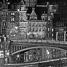 The Old Town Edinburgh by Chris Clark