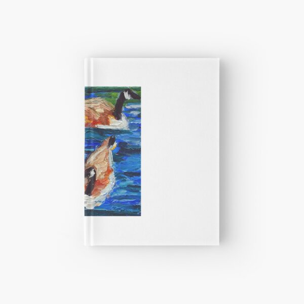 Canada Geese Trio  Hardcover Journal