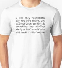 "I am only... ""Anais Nin"" Inspirational Quote Unisex T-Shirt"