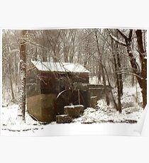 Garvine Mill_3_Winter Poster
