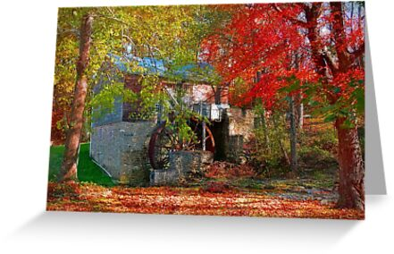 Garvine Mill_2_Fall by Hope Ledebur
