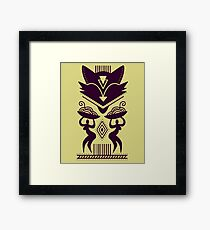 Tribal Pattern Framed Print