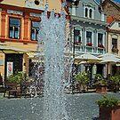 Fountain in Kőszeg by zolim