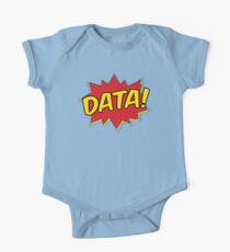 Data Pow Short Sleeve Baby One-Piece