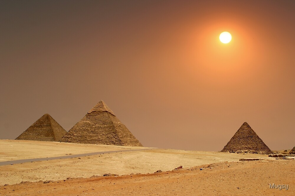 Pyramids  by Mugsy