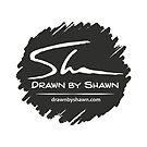 Drawn by Shawn logo by Shawn Turek