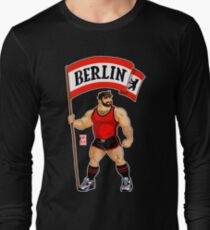 ADAM LIKES BERLIN - RED OUTFIT Long Sleeve T-Shirt