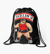 ADAM LIKES BERLIN - RED OUTFIT Drawstring Bag