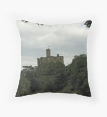 Warkwoth Castle Throw Pillow