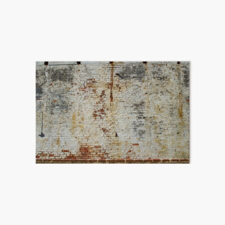 Worn White Wall Art Board Print