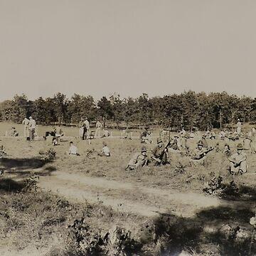 Camp Peay Rifle Range 1935 by FatCrayon