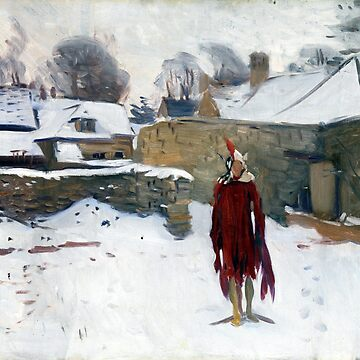 John Singer Sargent Mannikin in the Snow by pdgraphics