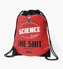 The martian Drawstring Bag
