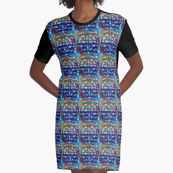 Hexagram 53: Jiàn (Replenish) Graphic T-Shirt Dress