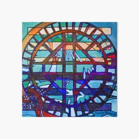 Hexagram 53: Jiàn (Replenish) Art Board Print