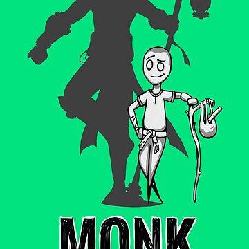 AFTER SCHOOL WARRIORS: MONK by Iceaegis